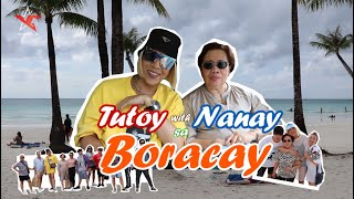 Video Tutoy with Nanay sa Bora!! (Part 1) MP3, 3GP, MP4, WEBM, AVI, FLV Januari 2019