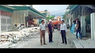 Nhân dân khu Phú Thanh Đông, phường Yên Thanh: hiến trên 1.900m2 đất làm đường giao thông