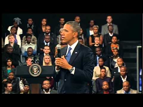 President Obama Comments on Anti-Corruption and Open Government