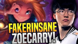 Video Faker Insane Hard Carry with New Champion Zoe! - SKT T1 Faker Plays Zoe with New Runes! | SKT T1 MP3, 3GP, MP4, WEBM, AVI, FLV Agustus 2018