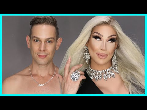 Doing JIMBO's Makeup from Canada's Drag Race | Alexis Stone