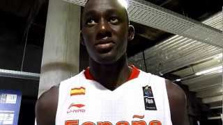 Ilimane Diop at the U17 World Championships