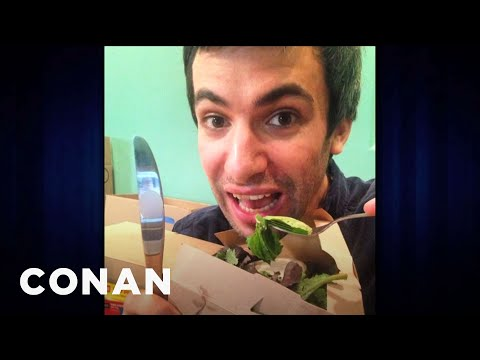 Nathan Fielder talks about his Instagram on Conan