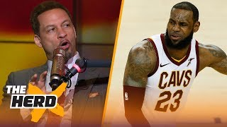 Video Chris Broussard on LeBron's jealousy of Durant, Curry's 3's in Warriors Game 2 win | NBA | THE HERD MP3, 3GP, MP4, WEBM, AVI, FLV Juni 2018