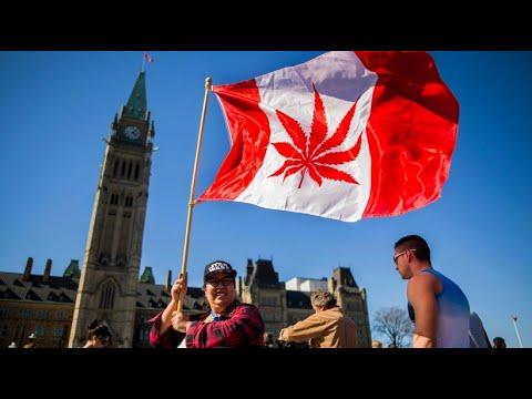 Cannabis ist in Kanada ab Mitte Oktober legal
