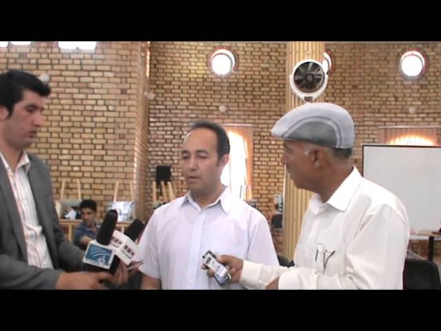 گفتگوی عبدالقادر مصباح رئیس نهاد اجتماعی خط نو با رادیو محلی رابعه بلخی درمزارشریف