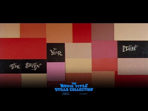 Saul Bass: The Seven Year Itch (1955) Title Sequence