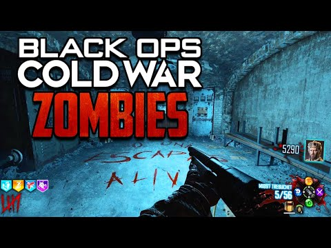 MAJOR ZOMBIES GAMEPLAY LEAK: Black Ops Cold War Zombies Leaked Gameplay Images! New Snowy Map!