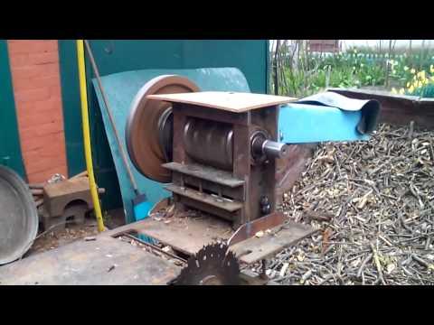 Дробилка для древесины своими руками фото