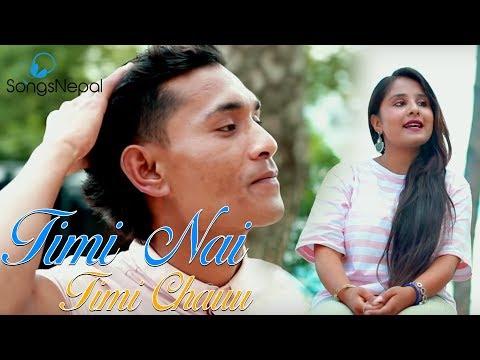 (Timi Nai Timi Chauu - Bibek Singh Dnwr & Grishma Sangraula | Nepali Pop Song | 2075/2018 - Duration: 4 minutes, 5 seconds.)