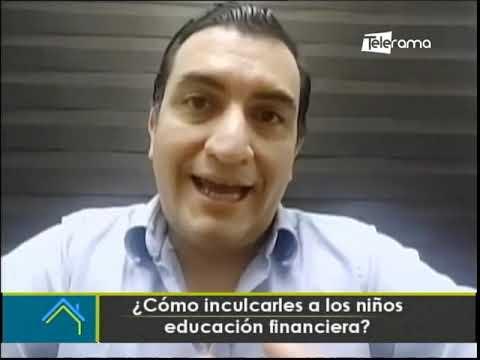 ¿Cómo inculcarles a los niños educación financiera?