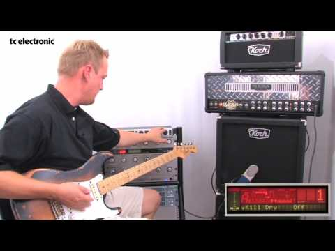 Using TC Electronic effects processors in guitar amplifier loops - part 1