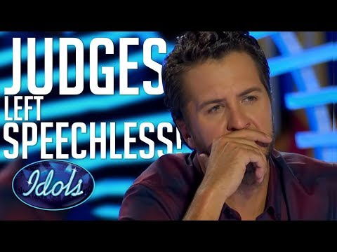 AUDITION LEAVES JUDGES SPEECHLESS! Emotional Original Song On American Idol 2018 (видео)