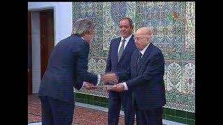 Le chef de l'Etat reçoit les lettres de créance de plusieurs ambassadeurs- Canal Algérie