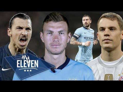 Ever - Edin Dzeko plays fantasy football and picks his best team ever! With no restrictions who will the Bosnian pick? Agree or disagree? We want to know your greatest ever eleven. Let us know...