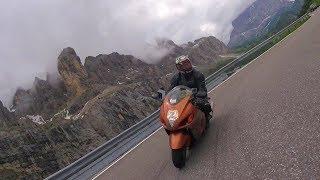 Segonzano Italy  city images : ITALY 2016 Dolomites Motorcycle trip Yamaha FZ6 and Suzuki Hayabusa