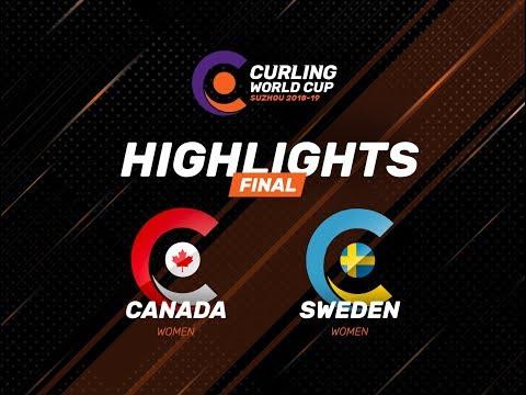 Canada v Sweden - Women's Final - Highlights - Curling World Cup First Leg – Suzhou