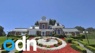 عرض منزل مايكل جاكسون للبيع بـ100 مليون دولار