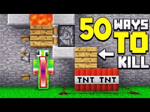 50 WAYS TO KILL UNSPEAKABLE IN MINECRAFT!