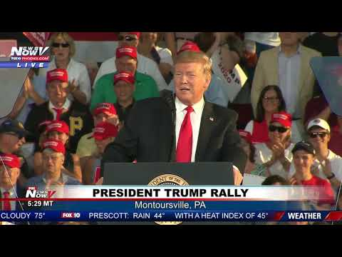 FULL RALLY: President Trump in Montoursville, Pennsylvania