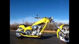 5. 2007 American Ironhorse Legend Custom Chopper US03086X
