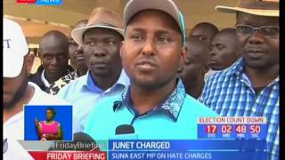 Suna East MP Junet Mohammed in trouble with the lawSUBSCRIBE to our YouTube channel for more great videos: https://www.youtube.com/Follow us on Twitter: https://twitter.com/KTNNews  Like us on Facebook: https://www.facebook.com/KTNNewsKenya For more great content go to http://www.standardmedia.co.ke/ktnnews and download our apps:http://std.co.ke/apps/#android KTN News is a leading 24-hour TV channel in Eastern Africa with its headquarters located along Mombasa Road, at Standard Group Centre. This is the most authoritative news channel in Kenya and beyond.