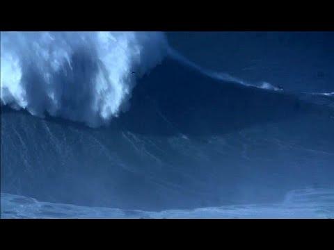 Neuer Welt Surf-Rekord des Brasilianers Rodrig ...
