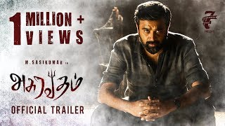 Video Asuravadham - Official Trailer | M Sasikumar | M Maruthupandian | Seven Screen Studio MP3, 3GP, MP4, WEBM, AVI, FLV Juni 2018
