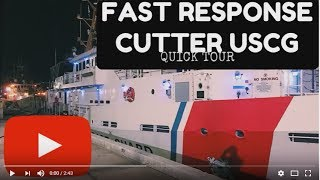 Just a quick tour of a Fast Response Cutter located in Miami, Florida. Sorry about the shaky cam... I actually wasn't intending on ...