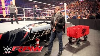 Nonton Dean Ambrose interrupts Brock Lesnar & Paul Heyman to pick some 'Mania essentials: Raw, Mar 28, 2016 Film Subtitle Indonesia Streaming Movie Download