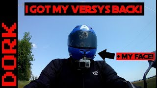 8. I Got My Versys Back! + Second Camera, New Truck, and What Kind of Videos Do You Want, Anyway?