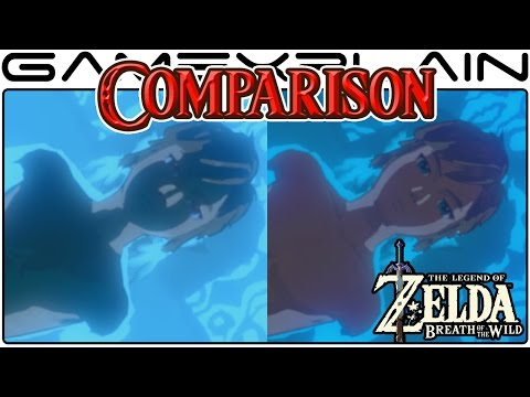 Zelda: Breath of the Wild Head-to-Head Comparison (Wii U vs Switch) (видео)