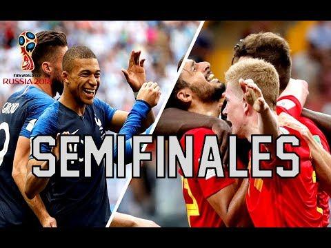 Analisis Semifinales del Mundial Rusia 2018 Francia vs Belgica