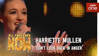Harriette Mullen performs 'Don't Look Back In Anger' by Oasis - All Together Now: Episode 3