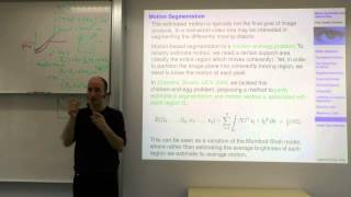 Variational Methods For Computer Vision - Lecture 18 (Prof. Daniel Cremers)