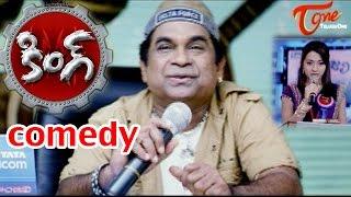 Video King Movie Comedy Scenes |  Brahmanandam Angry on Trisha MP3, 3GP, MP4, WEBM, AVI, FLV Maret 2019