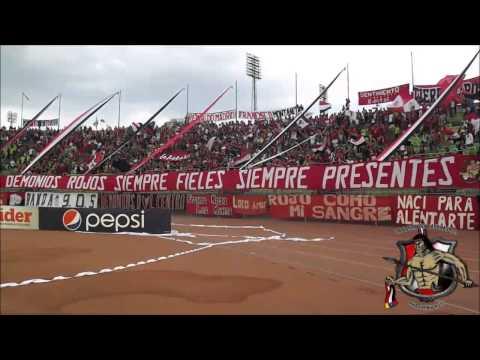 LOS DEMONIOS ROJOS l CARACAS FC Vs Dvo. Lara l TC2014 l 30-03-2014 - Los Demonios Rojos - Caracas