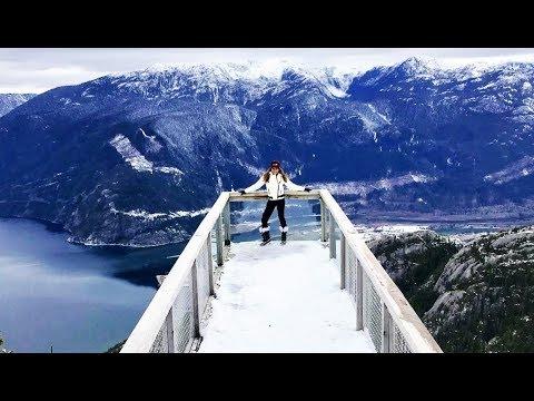 Jeannie D explores beautiful snowy Canada