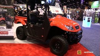 9. 2016 Kymco UXV 500i G Turf Recreational ATV - Walkaround - 2015 AIMEXPO Orlando
