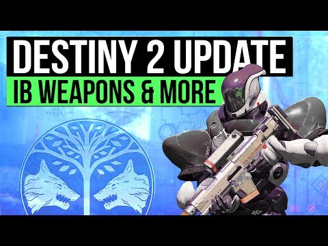 DESTINY 2 NEWS | New Iron Banner Weapons, Creating Clan Banners, Cabal War Machine & New Vehicles!