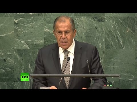Выступление Лаврова на Генеральной Ассамблее ООН (видео)