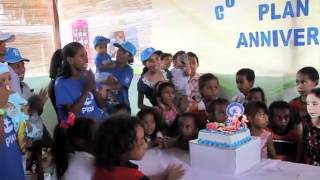 Timor Leste celebrate Plan's 75th Birthday!