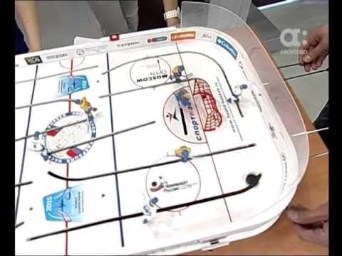 Хоккей: Утренний кофе vs Новости (видео)