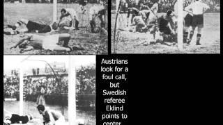 Österreich – Italien 0:1 (Halbfinale, WM 1934)
