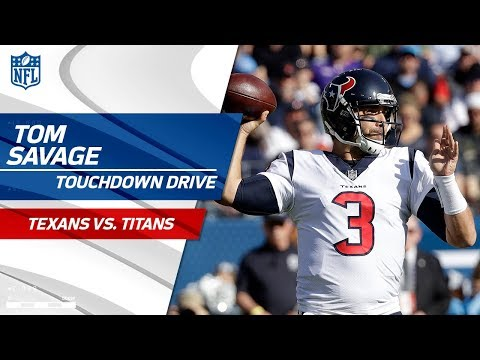 Video: Braxton Miller's Big Catch-'n-Run & Tom Savage's Scrambling TD Pass! | Texans vs. Titans | NFL Wk 13
