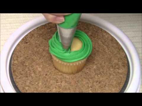 Como Decorar Cupcakes Navideños - Con Buttercream