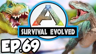 ARK: Survival Evolved Ep.69 - SOUTH ICE CAVE ARTIFACT OF THE SKYLORD!!! (Modded Dinosaurs Gameplay)