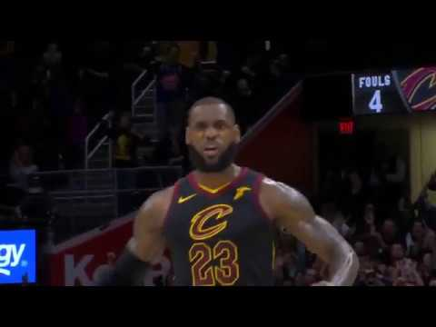 LeBron James With a Dagger from 3 to seal the game   Cavaliers vs Kings   Dec 6, 2017