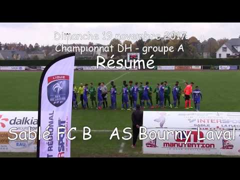 Sablé FC B - As Bourny Laval 19.11.2017