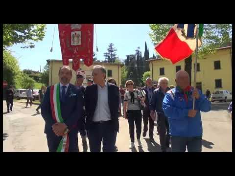 25 aprile, il governatore Rossi a Poppi per le celebrazioni